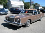 1982 Lincoln Continental at Bertrand Motors, Campbellford, ON, K0L 1L0