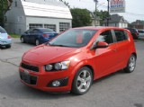 2012 Chevrolet Sonic LT at Bertrand Motors, Campbellford, ON, K0L 1L0